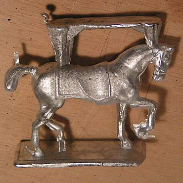 figurine plomb